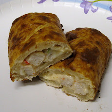 Chicken Spinach Pocket