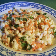 Cauliflower & Carrot Salad