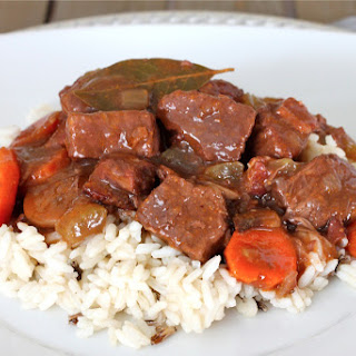 Boeuf Bourguignon (French Beef Stew)
