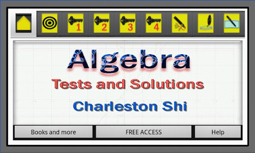 Algebra Tests Solutions