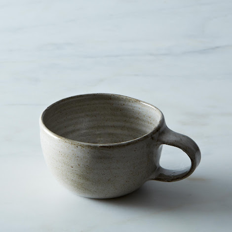 Wheel-Thrown Stoneware Mug
