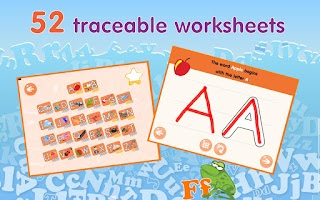 Screenshot of Montessori Alphabet Phonics