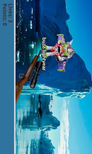 Shoot Buz Lightyear - screenshot