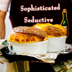 Three-Cheese Soufflé