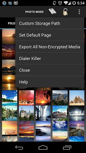 Shady Photo & Video Safe 4.0+ - screenshot