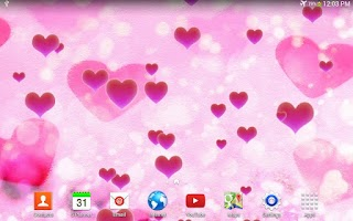 Screenshot of Heart Live Wallpaper