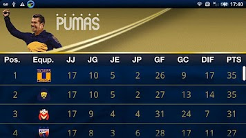 Screenshot of Pumas Oficial