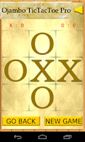 Screenshot of Ojambo TicTacToe Pro