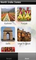 Screenshot of North Indian Recipes