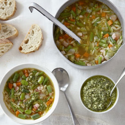 Green Bean Minestrone