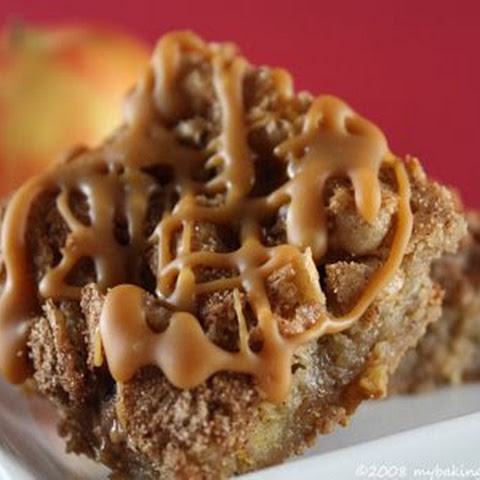 Caramel Apple Bars Adapted from allrecipes