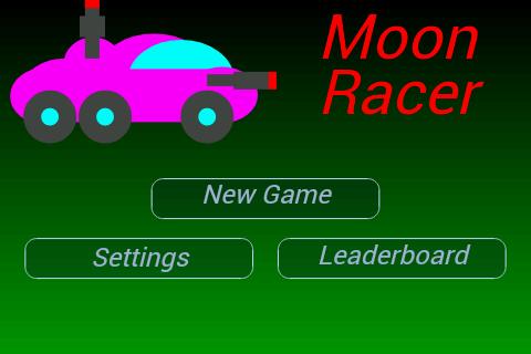 Moon Racer - 2D Retro Shooter