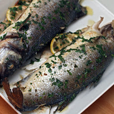 Pan-Roasted Whole Branzino