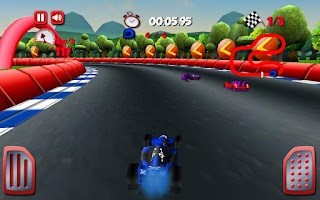 Screenshot of Formula Sprinty
