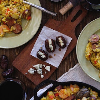 A Match Made in Heaven — Seafood Paella and Rioja