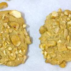 Salted Peanut Toffee Cookies