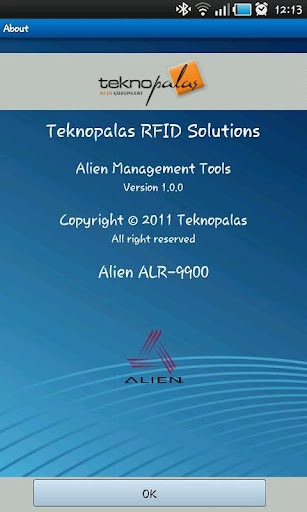 Alien RFID Reader Controller