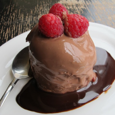 Creamy Chocolate Raspberry Summer Pudding