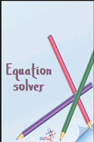 Screenshot of Equation Solver