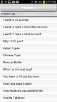 Screenshot of Financial Chinese