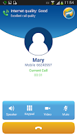 Screenshot of KingKing voice roaming service