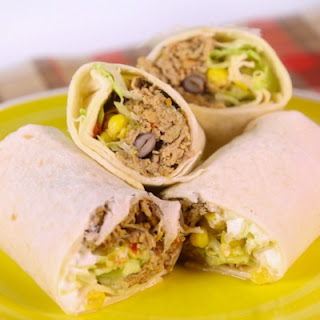 Spicy Pork Tenderloin Wraps