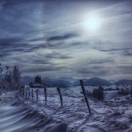 What a morning by Mihail Dulu - Landscapes Mountains & Hills ( winter, cold, snow, light, sun )
