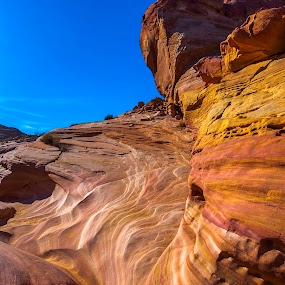 Water Worn by Patrick Flood - Landscapes Mountains & Hills ( canon, photosbyflood, nevada, stae park, landscape, valley of fire, mouse tank )