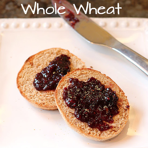 Whole Wheat And Honey English Muffin Bread With Cranberry Apple Butter ...