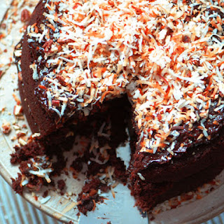 German Double-Chocolate Cake