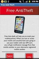 Screenshot of Free Anti Theft