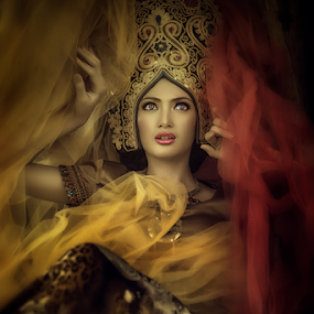 Apsara अप्सरा  by Sulfhian Sultiamiharja - People Portraits of Women ( #fashion, #women, #beautiful, #photography )