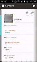Screenshot of Secret Phonebook Free