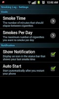 Screenshot of Quit Smoking Log Plus License