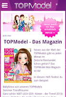 Screenshot of TOPModel Community App