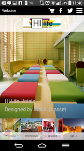 HI LIFE Hotels - screenshot