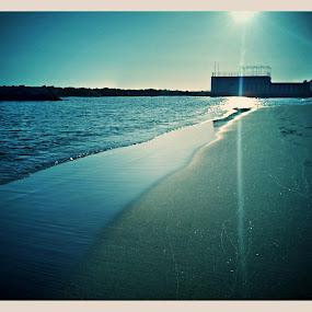 lenoba by Andreja Svenšek - Instagram & Mobile Other ( sand, sea, italy, sun, blues )