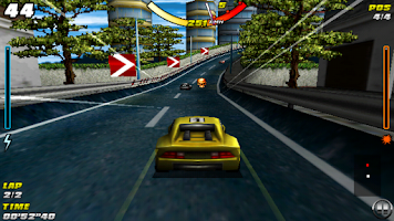 Screenshot of Raging Thunder - FREE