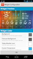 Screenshot of Sunny HK -Weather&Clock Widget