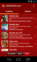 Screenshot of JAZZ RADIO