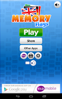 Screenshot of Memory Flags Games
