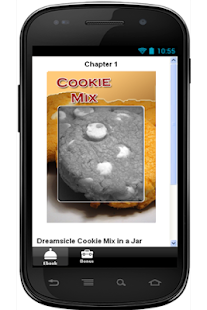 Dreamsicle Cookie Mix in a Jar - screenshot