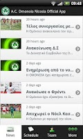 Screenshot of AC Omonoia Nicosia - Official