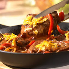Sirloin, Pepper and Onion Skillet