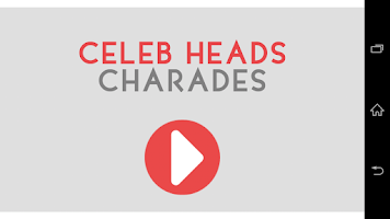 Screenshot of GOLD Heads Up Charades!