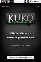 Screenshot of KUKQ - Phoenix