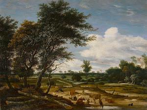 RIJKS: Jacob Salomonsz. van Ruysdael: painting 1665