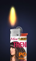 Screenshot of My Bic® Lighter