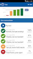 Screenshot of iTeori Trafiktesten Danmark