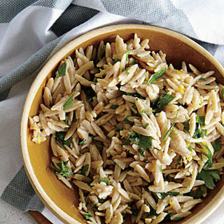 Lemon-Orange Orzo